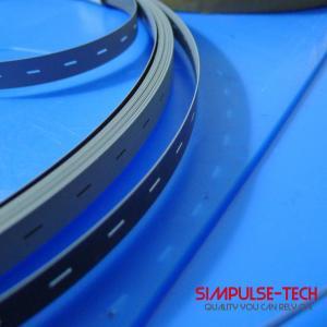 Solar Stringer Machine Parts Steel Conveyor Belt With Teflon Coatin 12mm Manufactures