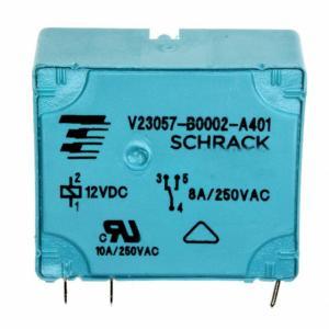 RELAY GEN PURPOSE SPDT 8A 12V V23057B 2A401 Manufactures