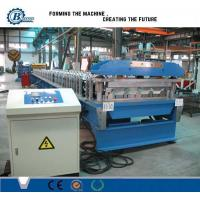 High Precision Corrugated Metal Roofing Panels Roll Forming Machine