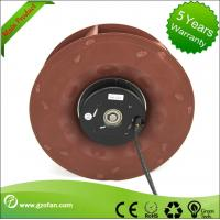 Backward Inclined Industrial Blower Fans / DC Centrifugal Blower PA66 Material Manufactures