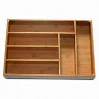 Buy cheap Tableware Box, Made of Bamboo, Measures 44 x 30.5 x 6.5cm from wholesalers