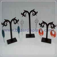 Free Shipping Wholesale Earring Acrylic Jewelry Display Stand Holder 12set lot Manufactures