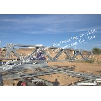 Dip Hot Galvanized Steel Pedestrian Bridge Surface Protection Light Gray Color Manufactures