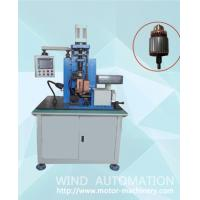 Brazing armature colector spot welding hot stacking machine welder with AC power supply Manufactures