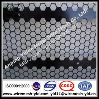sheet metal fabrication,hexagonal hole perfroated mteal Manufactures