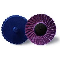 "3"" Mini Flap Disc 240 Grit , Metal Wood Polishing Flapper Wheels For Pencil Grinder Manufactures"
