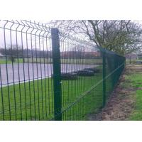 Cheap Professional Plastic Coated Garden Wire Mesh Fencing With Heavy Steel Structure for sale