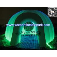 White Inflatable Clear Light Dome Tent  Outdoor Oxford Cloth Manufactures
