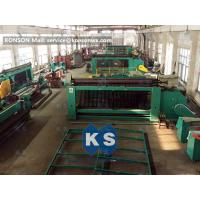 2m X 1m X 1m Gabion Machine Reno Mattress Machine Edge Winding Up Machine
