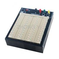 ABS Plastic Brown Powered Breadboard 50000 Times Contact Life Manufactures