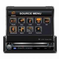 Two-DIN In-dash DVD Player with 6.5-inch WVGA Digital TFT LCD Display and Built-in Navigation Manufactures
