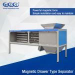 Energy Saving Powder Magnetic Separator Machine With Vibrator 380VAC Input Manufactures