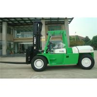 Steering Axle 12 Ton Diesel Forklift Truck Warehouse Applied Hydraulic Transmission Manufactures