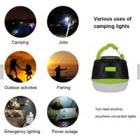 Quality 2200mAh Charger LED Camping Lantern Tent Night Light IP65 4W With Magnet Base for sale