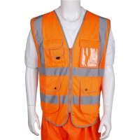 Orange 4XL 5XL Safety Reflective T Shirt With Dm Reflective Tape Manufactures