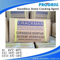 Soundless stone cracking agent with High quality Manufactures