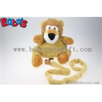 """Buy cheap 11.8""""Lovely Yellow Plush Lion Children Backpack Children Not Lost Bags Bos-1238 from wholesalers"""