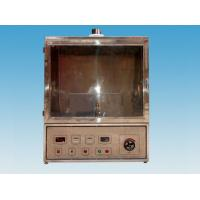 0.5M3 Volume Mine Electrical Test Equipment Wire Flame Tester With Exhaust Device Manufactures