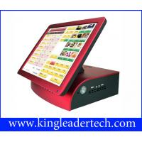 Compact 15  Black Pos Touch Terminal For Restaurant , Bar , Pub , Nightclub Manufactures