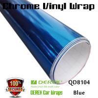 Chrome Mirror Car Wrapping Vinyl Film 3 layers - Chrome Blue Manufactures