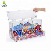 Transparent Acrylic Candy Containers House Shape Mini Acrylic Candy Bins Manufactures