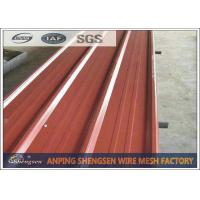 1.2M Width 5M Length Corrugated Steel Sheets For Building Structures ISO 9001 Approved Manufactures