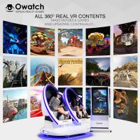 Owatch-2018 Hot selling Shooting  Cinema Virtual Reality 9D VR Chair-3rd Cinema 360 degree Manufactures