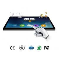 "Kiosk Capacitive Touch Screen Monitor , 43"" Industrial LCD Monitor PCAP IP65 Manufactures"