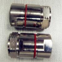 Straight L29 Connector Nickel Plated Coaxial DIN RF Connector Customized Manufactures