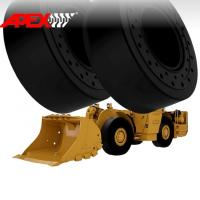 APEX 18.00-25 Solid Tire, Cushion Tyre for Wheel Loader, Integrated Tool Carrier, Elevating Motor Scraper Manufactures