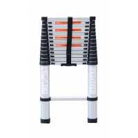 Anti Corrosion 13.5ft Aluminium Telescopic Ladder Manufactures