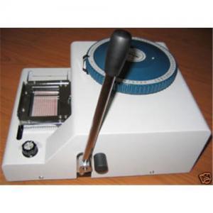 China Manual embosser machine, credit card embosser, ID card, PVC card. on sale