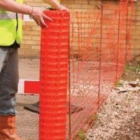 Colored Plastic Fence, Extruded from UV Stabilized Polypropylene Manufactures