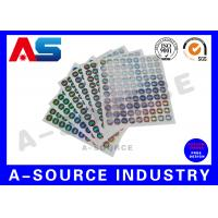 Secure  Printed Self Adhesive Stickers Labels Vinyl Printing With Serial Number Manufactures