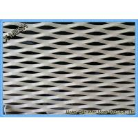 Buy cheap Aluminum Expanded Metal Grating For Decoration Material SGS Approved from wholesalers