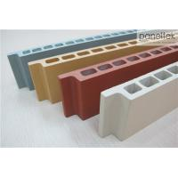 Natural Color Terracotta Panels Facade Cladding MaterialsWith Low Maintenance Manufactures