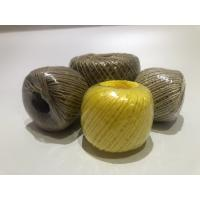 Twist Caco3 Polypropylene Twine For Cable Filler 7-40kg / Roll With Spool Manufactures