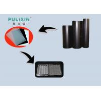 Black High Gloss Plastic Sheet  at 2mm , High Impact Polystyrene Sheet in Roll Manufactures