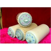 No Sticky Nylon Conveyor Rollers Plastic Conveyor Rollers For Much Dust Environment