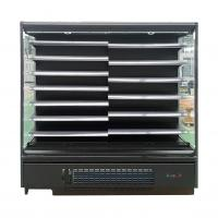 Commercial Upright Supermarket Open Display Fridge with Adjustable Shelving