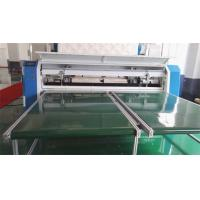 7 Inch Touch Screen Quilted Fabric Mattress Cutting Machine 80Mm Thickness Manufactures