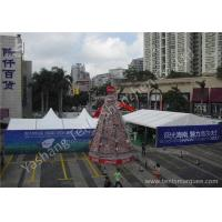 UV Resistant Aluminum Alloy Frame Outdoor Event Tent White PVC Fabric Cover Manufactures