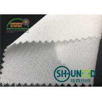 55GSM Fusible Woven Adhesive Liner /White  Interlining In Garments Manufactures