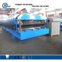 High Speed Double Layer Roll Forming Machine , Roof Sheet Making Machine Manufactures