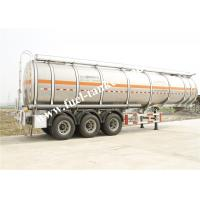 36000 Litres fuel tanker trailer with tri - axle GUANGDONG FUWA alxes