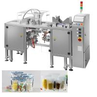 Snacks Packing Machine / Doypack Pouch Packing Machine For Pet Foods / Seafoods Manufactures