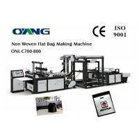 Cheap Full Automatic Nonwoven Bag Making Machine / Computer Control Bag Forming Machine for sale