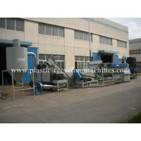PE Film Washing Line Waste Plastic Recycling Machine With Drying System