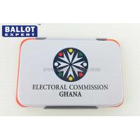 Cheap Colorful Iron Case Office Ink Stamp Pads For Election Campaign for sale