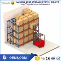Lower cost China supplier Storage Equipment Warehouse Pallet Rack ,Very Narrow Aisle Selective Warehouse Rack Manufactures